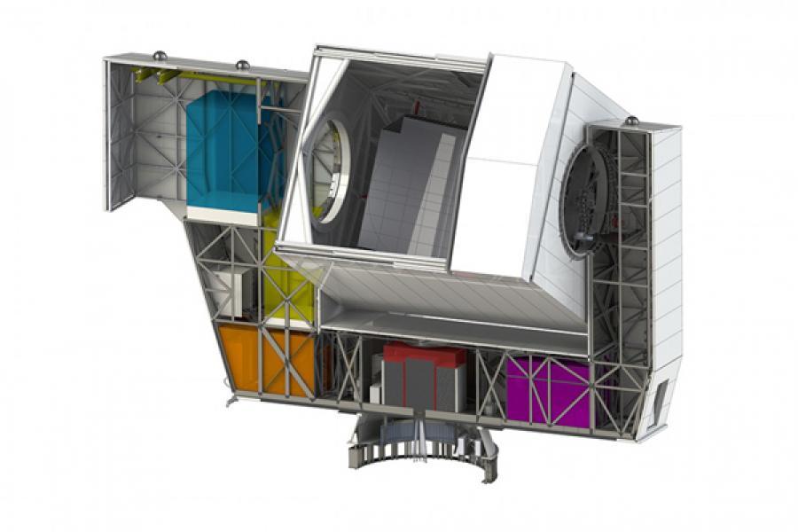 CCAT telescope drawing