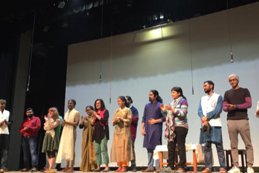 PMA grad student Rosalie Purvis collaborates with  theatre company Chaepani