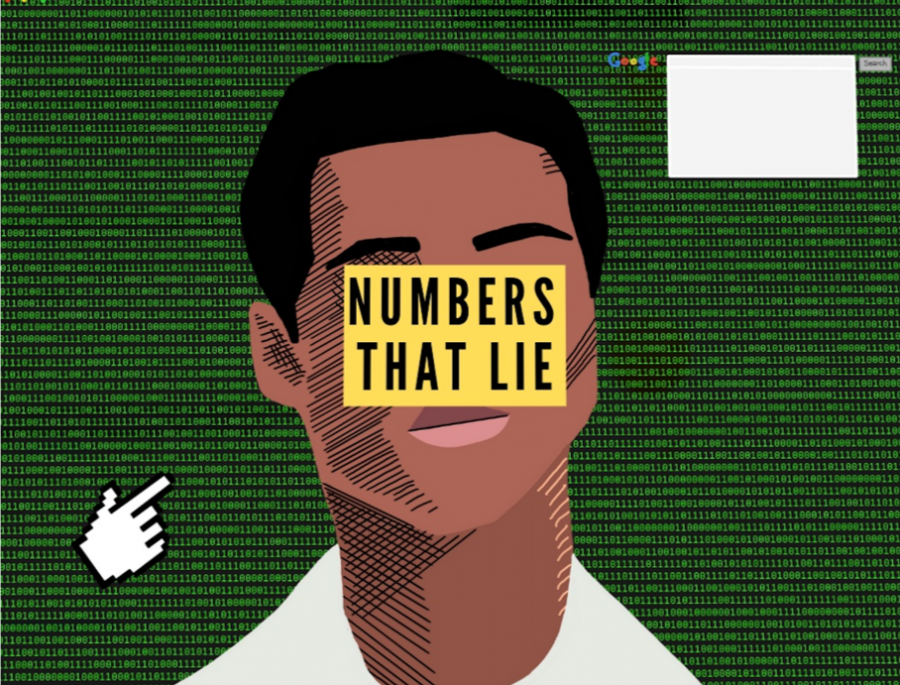 Podcast cover art on episode on bias in algorithms