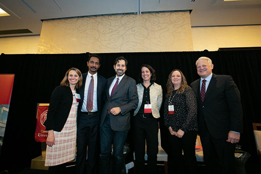 Panelists at State of the American Dream event