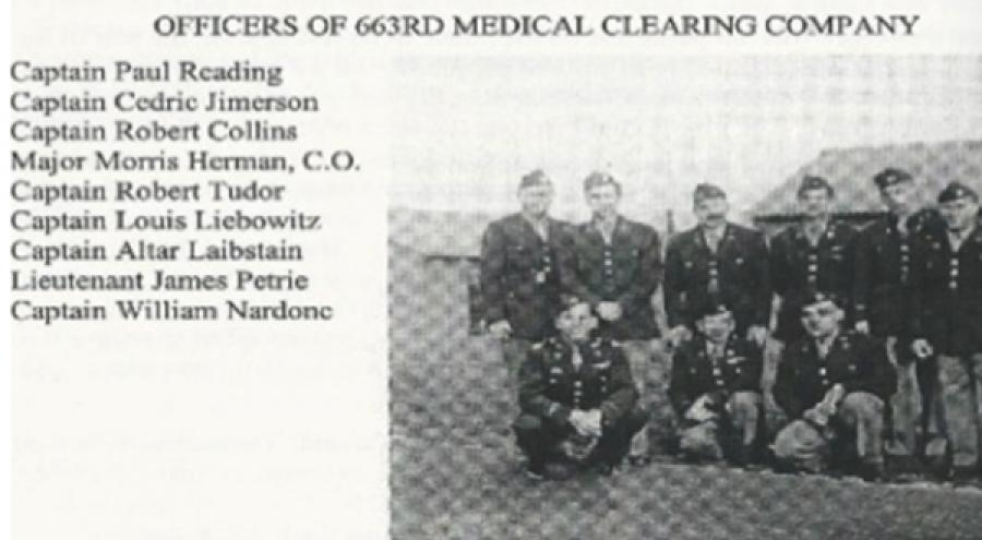 Cedric Jimerson's military unit