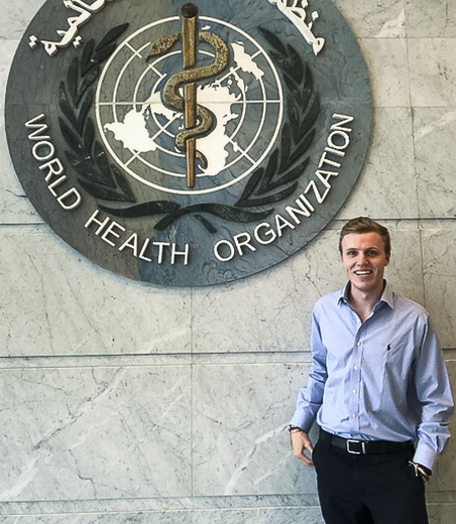 Dalton Price at the WHO