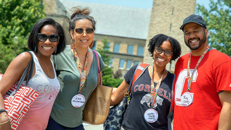 Alumni at Cornell Reunion