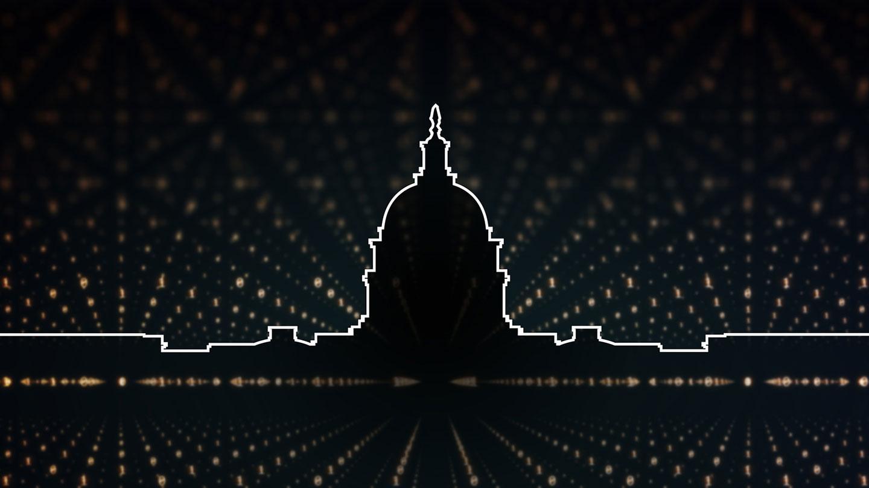 "Illustration for ""AI Revolution"" event"