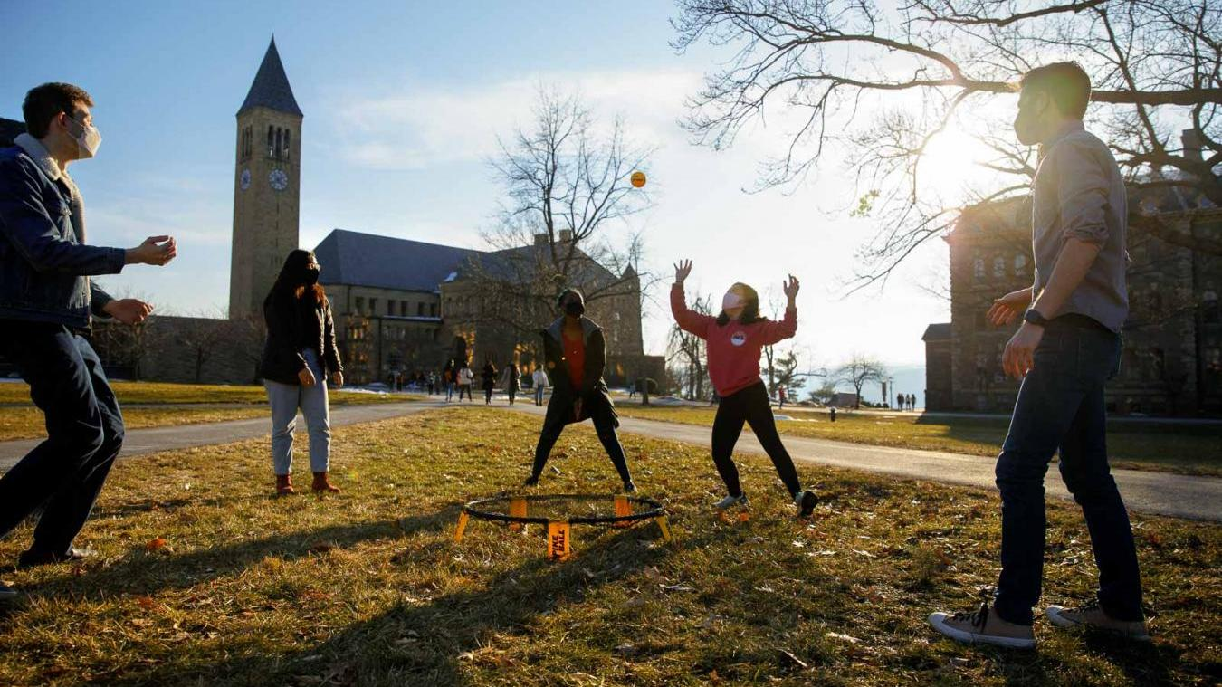 Students enjoy in-person activities around the Arts Quad during March Wellness Days